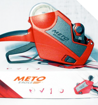 Meto Pricing Machines and tags